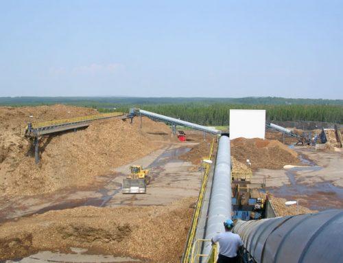 Manutention de biomasse