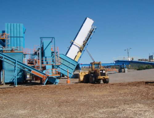 Manutention de biomasse forestière